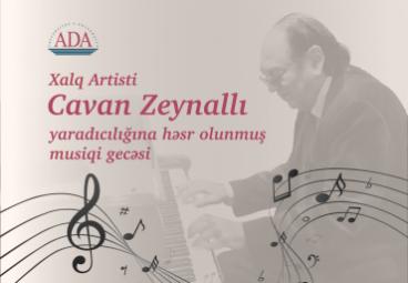 Music Night dedicated to People's Artist Cavan Zaynalli