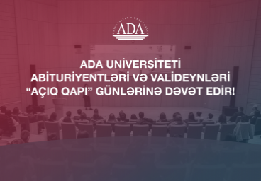 Info sessions for ADA University admission