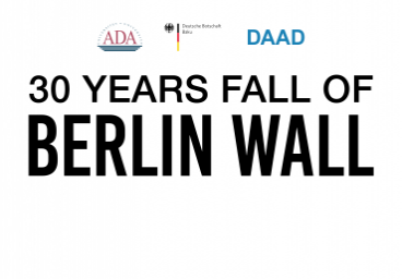 30 years fall of Berlin wall. Lecture by German historian at ADA University
