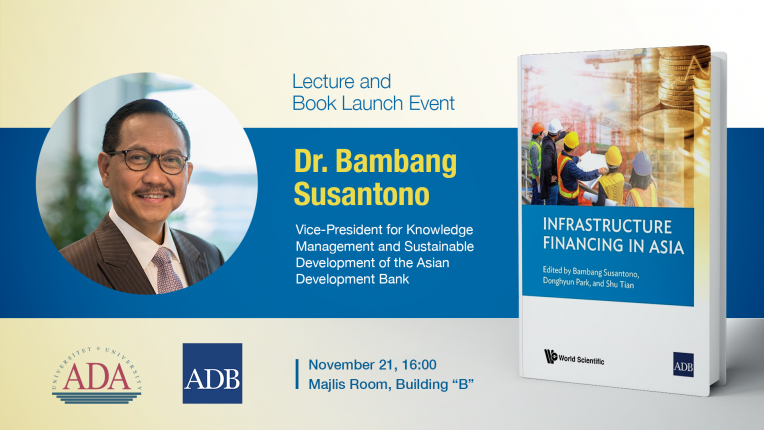 Lecture and book launch event with Dr. Bambang Susantono from ADB
