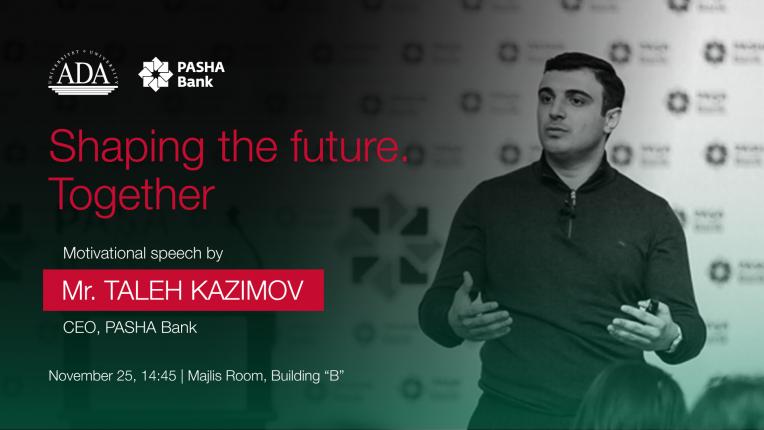 Public Talk by Mr. Taleh Kazimov