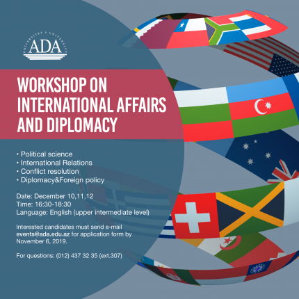Workshop on International Affairs and Diplomacy