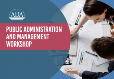 Save the dates for Administration and Management Workshop