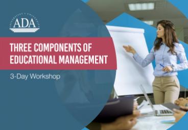 Workshop alert: ''Three components of Educational Management''