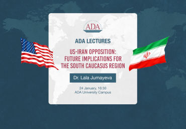 ADA Lectures: US-Iran opposition and future implications for the South Caucasus region