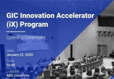 The opening ceremony of GIC Innovation Accelerator (iX) Program