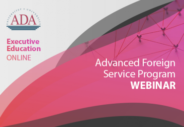 AFSP Webinar: Strategic consequences of COVID-19 for the Future of International Relations.