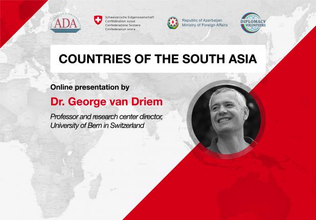 Presentation by professor of University of Bern in Switzerland, Dr. George van Driem