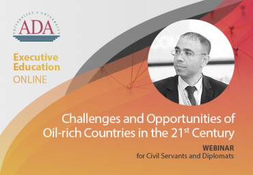 Webinar with Elnur Soltanov, Deputy Minister of Energy