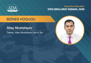 Executive Education Open Enrolment Webinar on Business Law