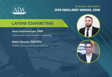 ADA Executive Education Open Enrollment Webinar on Project Management