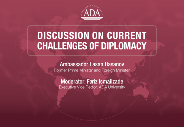Upcoming online discussion on current challenges of diplomacy