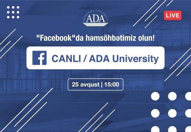 """Abituriyentlər üçün növbəti canlı yayım """"Facebook"""" səhifəmizdə"""