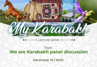 "The Next Online Lecture of ""My Karabakh"" Series"