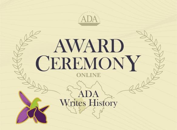 """ADA Writes History"" online Award Ceremony"