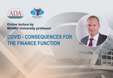 Online lecture by Marco Koschier, MGIMO University Visiting expert
