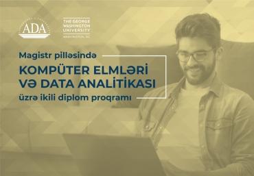 Onlayn Məlumat sessiyasına qoşulun: Magistr pilləsində Kompüter elmləri və Data analitikası üzrə ikili diplom proqramı