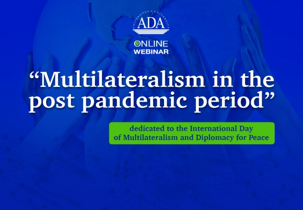 Next Webinar Dedicated to the International Day of Multilateralism and Diplomacy for Peace