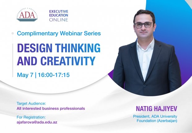 Complimentary Webinar by Executive Education: Design Thinking and Creativity