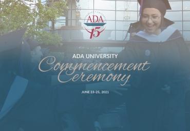 ADA University Commencement 2021: June 23-25