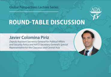 Round-table discussion with NATO Secretary General's Special Representative for the Caucasus and Central Asia