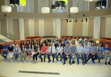 Rector meets outgoing exchange students