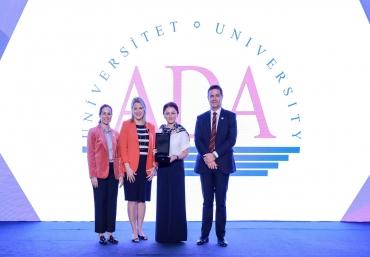 ADA University receives prestigious international award