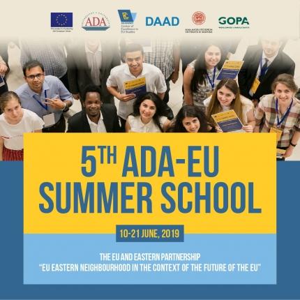 5th ADA UNIVERSITY EU SUMMER SCHOOL 2019