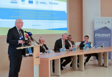 ADA University hosted the 2nd EU-Azerbaijan Conference on Inter-faith dialogue and anti-radicalization
