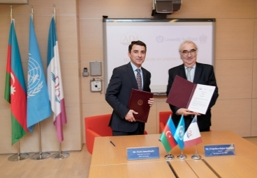 ADA University and the University of Peace have signed a  Memorandum of Understanding