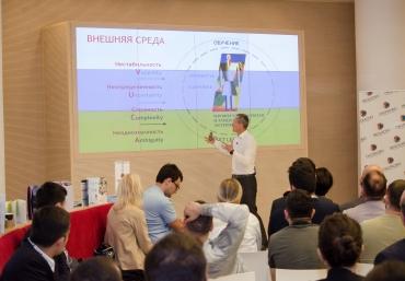 ADA University hosted Dr. Andrey Sharonov, President of SKOLKOVO Business School