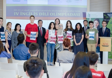 4th English Language for Academic Purposes Olympiad held at ADA University