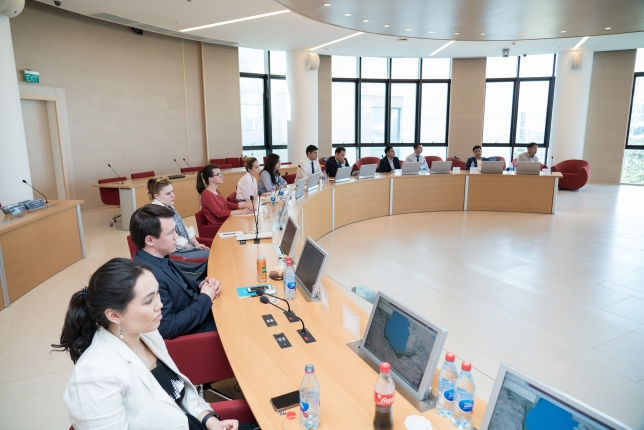 ADA University and Turkic Council organized the 6th Joint Training Program of Turkic Council Junior Diplomats