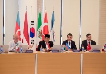 MIKTA Ambassador gave a lecture at ADA University