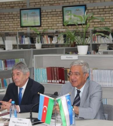 "Ambassador Hafiz Pashayev's book  ""Manifest of An Ambassador"" was presented in Tashkent"