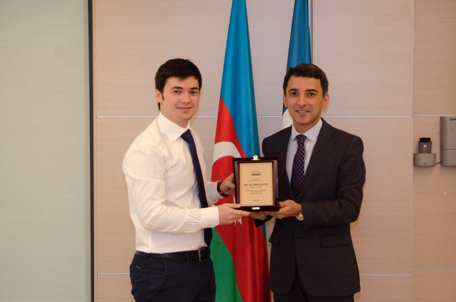 ADA University received its first financial donation by its own alumnus
