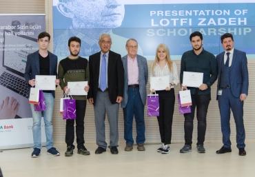 Certificate awarding of fellows of Lotfi Zadeh scholarship and Alimardan bay Topchubashov International Fellowship