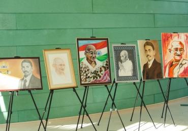 The philosophies and spiritual life of Gandhi were discussed at ADA University