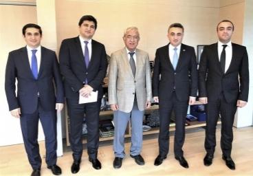 High caliber representatives of Bar Association met with the leadership of ADA University