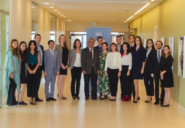 The Executive Education completed this year's Caspian Basin Studies Program