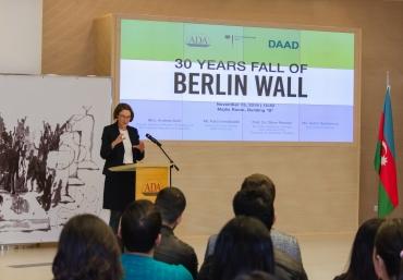 30th anniversary of Berlin's wall fall at ADA University