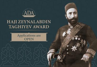 Call for Applications: Haji Zeynalabdin Taghiyev Award