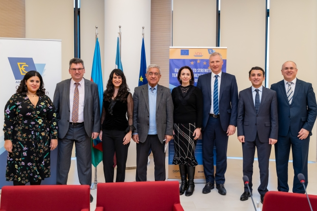 """Closing ceremony of EU-funded project """"Strengthening Teaching and Research capacity at ADA University"""""""
