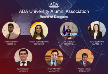 ADA University Alumni Association is getting started for intensive activity this year