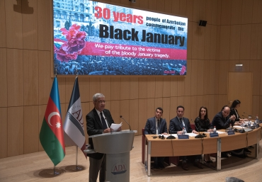 Commemorative event on 30th anniversary of Black January