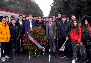 ADA School paid a tribute to the respectful memory of the martyrs of Black January tragedy