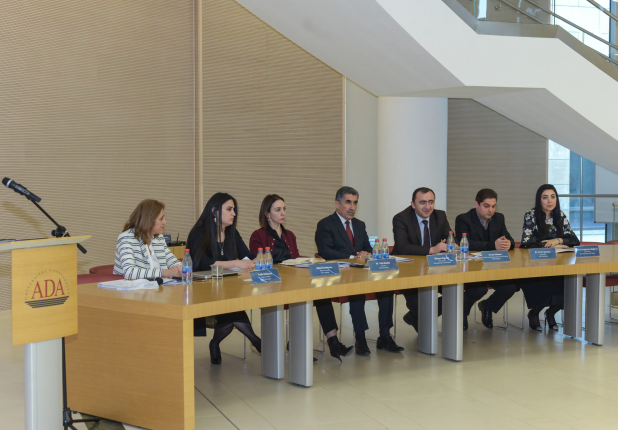 ADA University hosted a closing ceremony of educative project