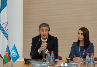 UN75 initiative is officially launched in Azerbaijan
