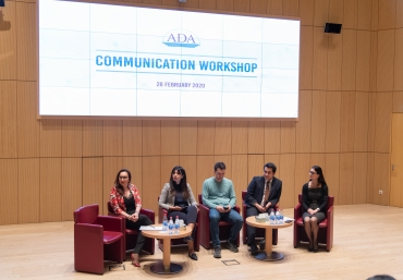 Public Speaking workshop organized by ADA University General Education Program brought together students and experts