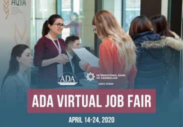 ADA University connects talents and employers via the Virtual Job Fair